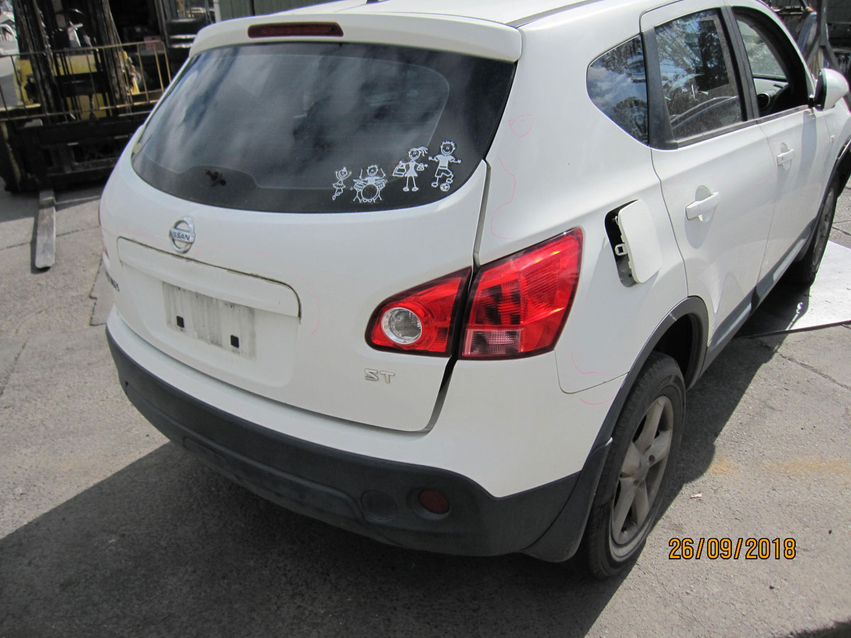 2009 NISSAN DUALIS – VN P18036 Wrecking Parts Brisbane